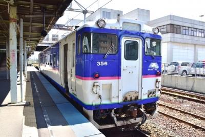 日高本線鵡川行きキハ40形350番台