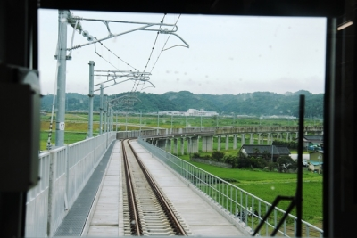 新設の高架線