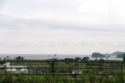 野蒜駅からの眺め