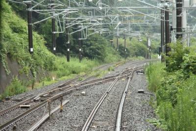 東北本線から仙石線への接続区間