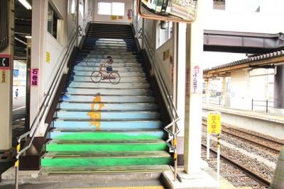 石巻駅階段