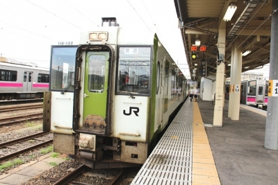 盛岡行きキハ1110系