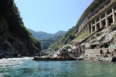 大歩危峡観光遊覧船