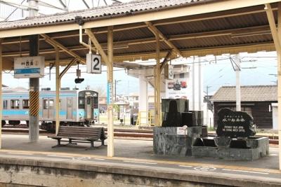 伊予西条駅のうちぬき