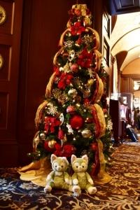 東京ディズニランドホテルのクリスマスツリー
