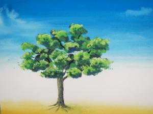樹木ポスカラ