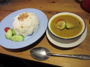 チキンと野菜イエローカレー