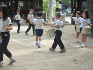 幼稚園児運動会練習2