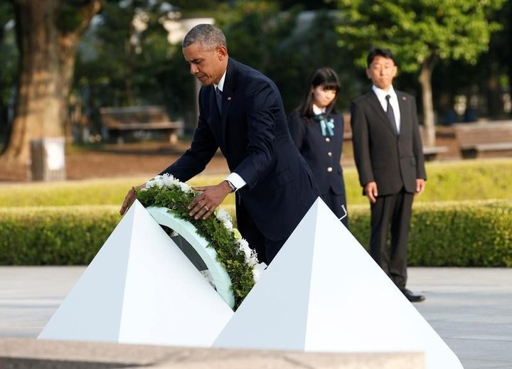 オバマ米大統領が現職初の広島訪問