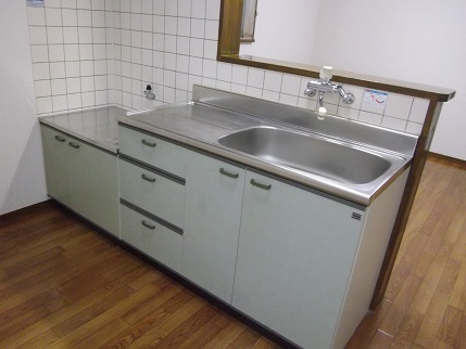 フルールA201キッチン旧