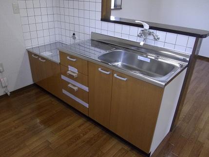 フルールA201キッチン新