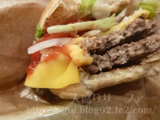 バーガーキングのダブルワッパーチーズ121