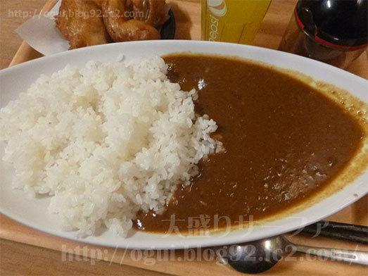 千葉県産の濃厚地鶏カレー大盛り033