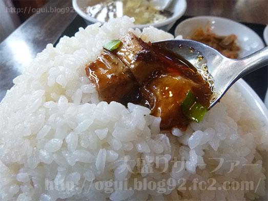 谷記のマーボー豆腐定食017