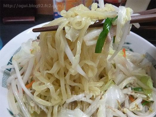 日高屋の野菜たっぷりタンメン087