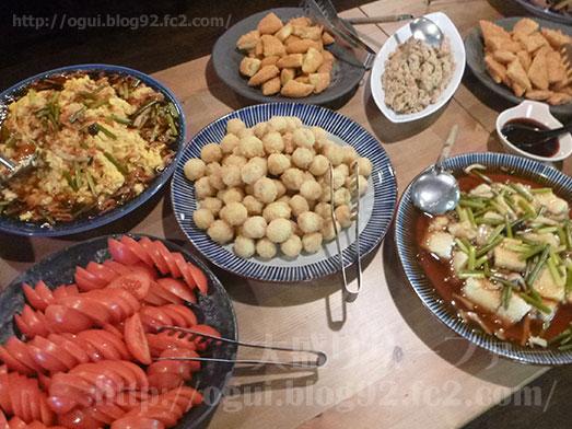 季節料理まさむね500円ランチ惣菜食べ放題031