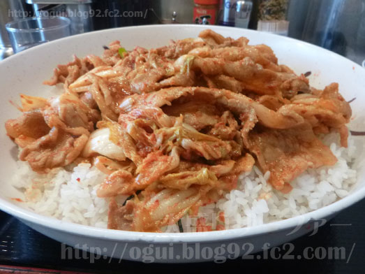 昭和食堂のスタミナ丼064