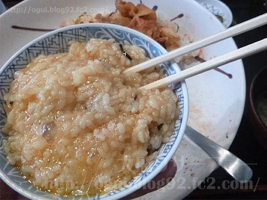 豚キムチ丼のギガ盛り073