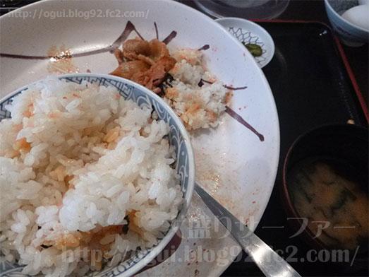 豚キムチ丼のギガ盛り074