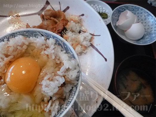 豚キムチ丼のギガ盛り075