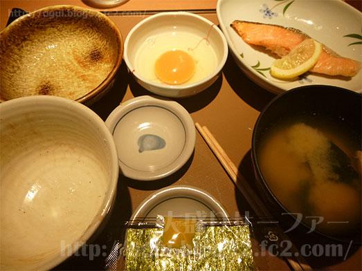 朝食メニューの銀鮭定食147