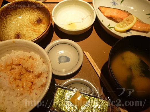 朝食メニューの銀鮭定食150