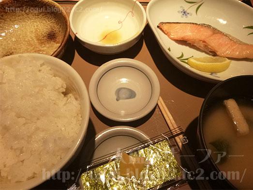 銀鮭定食ご飯おかわり153