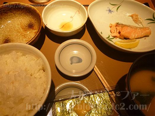 銀鮭定食ご飯おかわり157