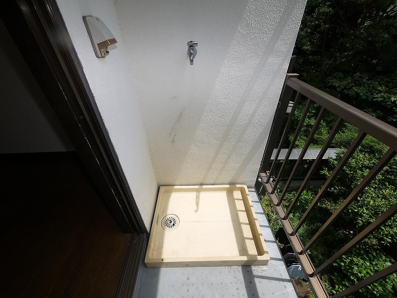 樹林ハイム302洗濯機置き場