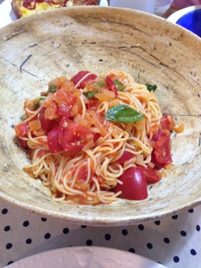 トマトのレイセイパスタ