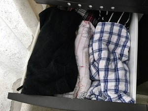 押入れの服のお片付け2