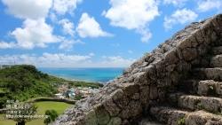 勝連城跡,沖縄,海,壁紙,デスクトップ