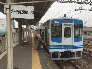 四日市駅 伊勢鉄道 イセIII形