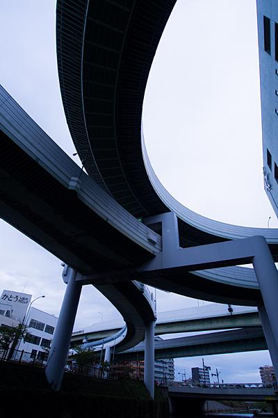 黒川ジャンクションループ交差