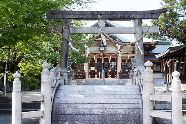 植田八幡社