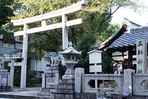 三輪神社外観