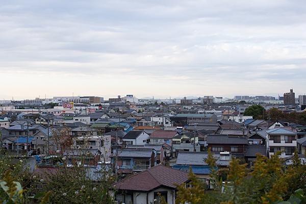 小幡城跡からの眺め