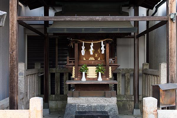 須佐之男神社西之切本殿