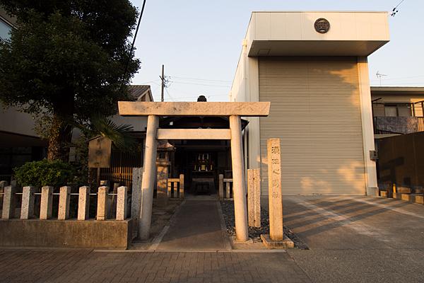 須佐之男神社西之切全景