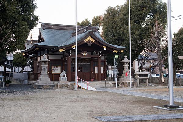 多奈波太神社拝殿