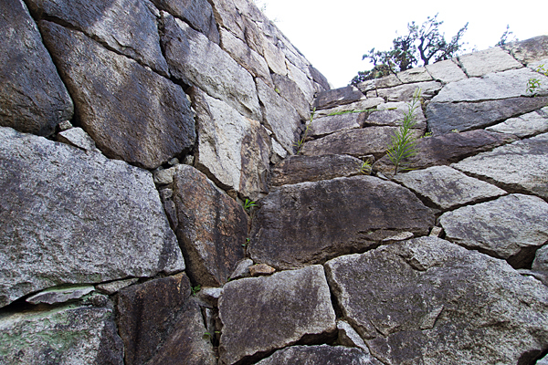 岩崎城石垣