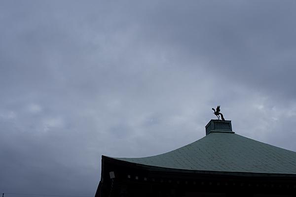 久国寺屋根の鳳凰
