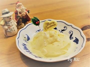 アイスデリで作ったアイス(クリスマスアレンジ)