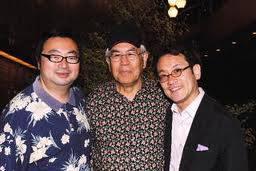 河合先生、ヒューレン博士、錦さん
