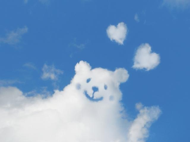 くまちゃんの雲