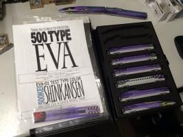 同じ日に注文していた500TYPE EVAが届きました。