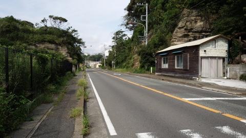 三崎港から三浦海岸へ戻ります。