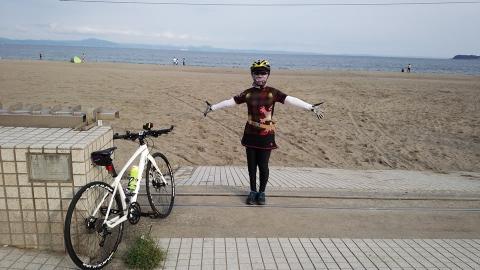 三浦海岸とヘタレ(笑)。
