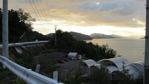 大三島の夕暮れ