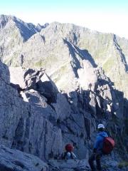 ドーム中央稜手前のアプローチ2